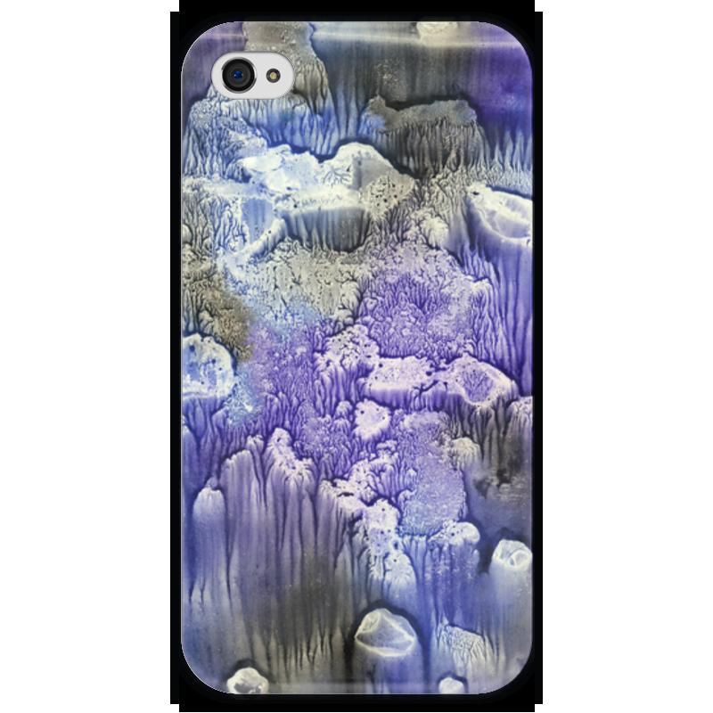 Чехол для iPhone 4 глянцевый, с полной запечаткой Printio Акварелька чехол для iphone 4 глянцевый с полной запечаткой printio фруктовый сад в цвету
