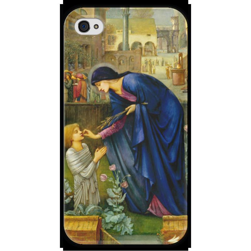 Чехол для iPhone 4 глянцевый, с полной запечаткой Printio Сказка настоятельницы (the prioress's tale) the orphan s tale