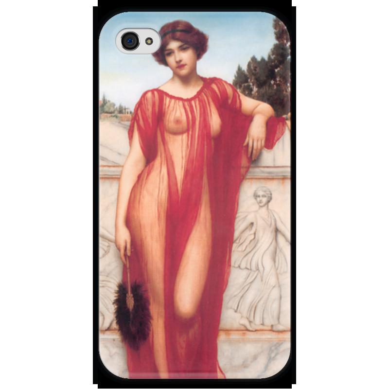 Чехол для iPhone 4 глянцевый, с полной запечаткой Printio Афинаида (джон уильям годвард) уильям уинн уэсткотт книга творения сефер йецира