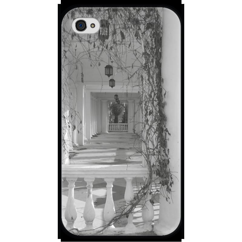 Чехол для iPhone 4 глянцевый, с полной запечаткой Printio Осень чехол для iphone 4 глянцевый с полной запечаткой printio пиво