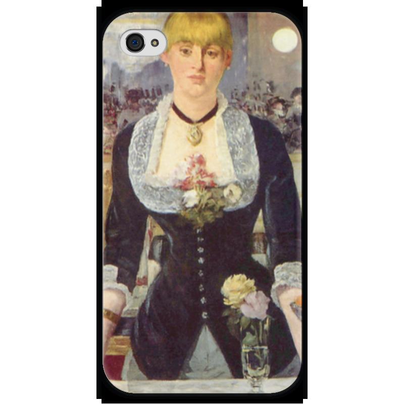 Чехол для iPhone 4 глянцевый, с полной запечаткой Printio Бар в «фоли-бержер» (картина эдуарда мане) фоли р как открыть бар для чайников