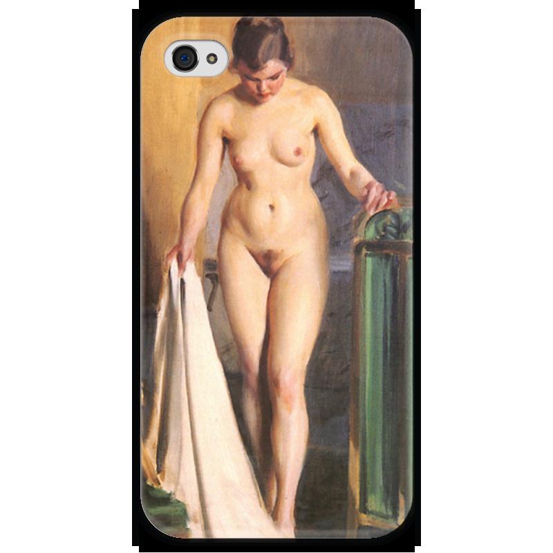 Чехол для iPhone 4 глянцевый, с полной запечаткой Printio In the bedroom чехол для iphone 4 глянцевый с полной запечаткой printio эфиопка