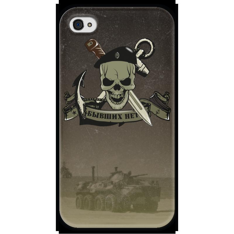 Чехол для iPhone 4 глянцевый, с полной запечаткой Printio Морская пехота!!! чехол для iphone 4 глянцевый с полной запечаткой printio эфиопка