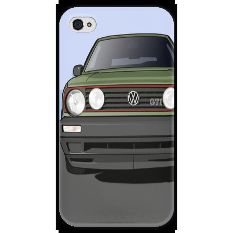 Чехол для iPhone 4 глянцевый, с полной запечаткой Printio Vw golf mk2 чехол для iphone 4 глянцевый с полной запечаткой printio эфиопка