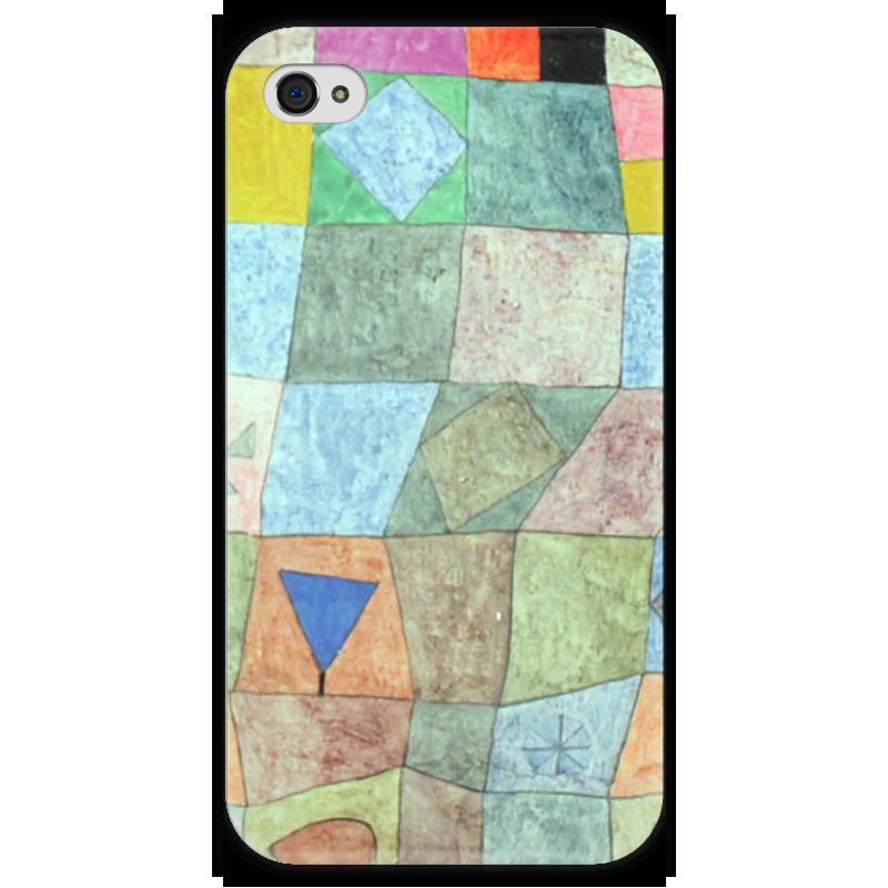 Чехол для iPhone 4 глянцевый, с полной запечаткой Printio Товарищеский матч чехол для samsung galaxy s5 printio товарищеский матч