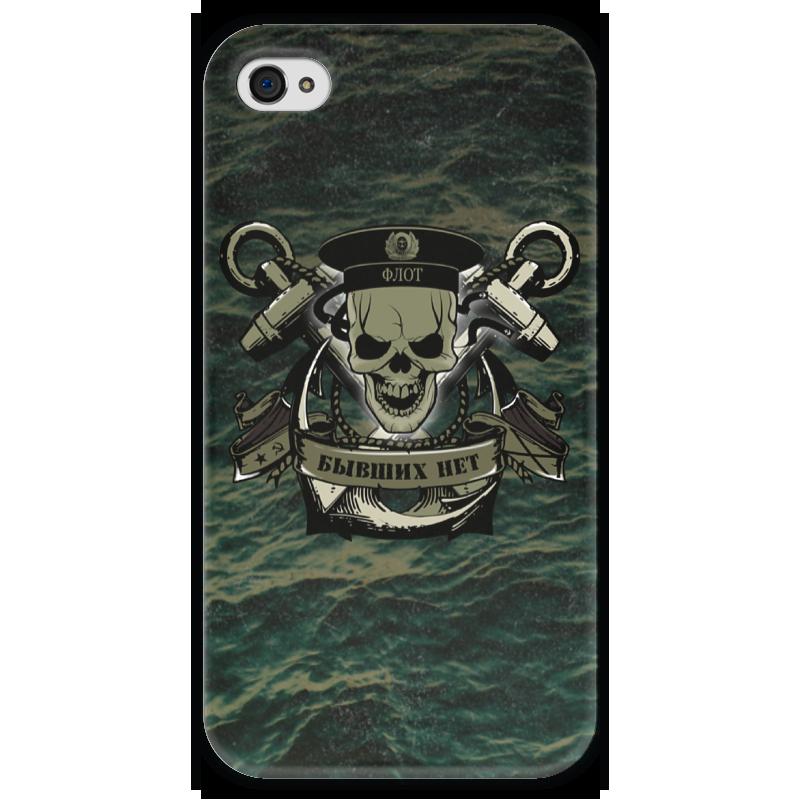 Чехол для iPhone 4 глянцевый, с полной запечаткой Printio Флот!!! чехол для iphone 4 глянцевый с полной запечаткой printio эфиопка
