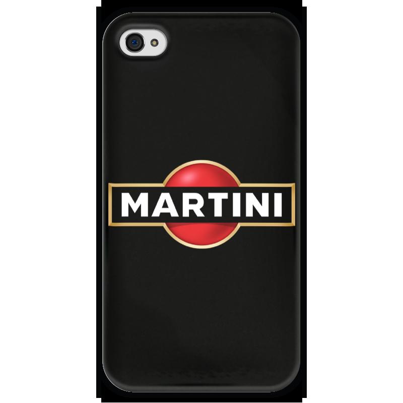 Чехол для iPhone 4 глянцевый, с полной запечаткой Printio Martini чехол для iphone 4 глянцевый с полной запечаткой printio пиво