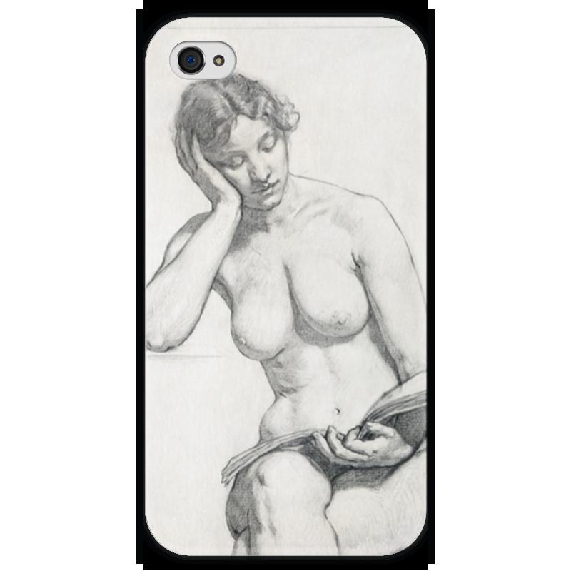 Чехол для iPhone 4 глянцевый, с полной запечаткой Printio Kenyon cox nude study чехол для iphone 4 глянцевый с полной запечаткой printio study of a lady