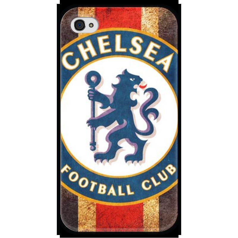 Чехол для iPhone 4 глянцевый, с полной запечаткой Printio Челси чехол для iphone 4 глянцевый с полной запечаткой printio эфиопка