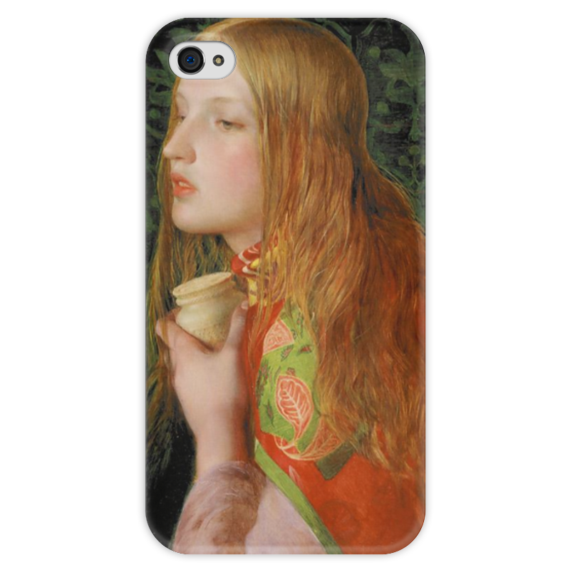 Чехол для iPhone 4 глянцевый, с полной запечаткой Printio Мария магдалина (картина фредерика сэндиса) профет элизабет клэр бут эннис мария магдалина тв вселенский аспект женской божественности