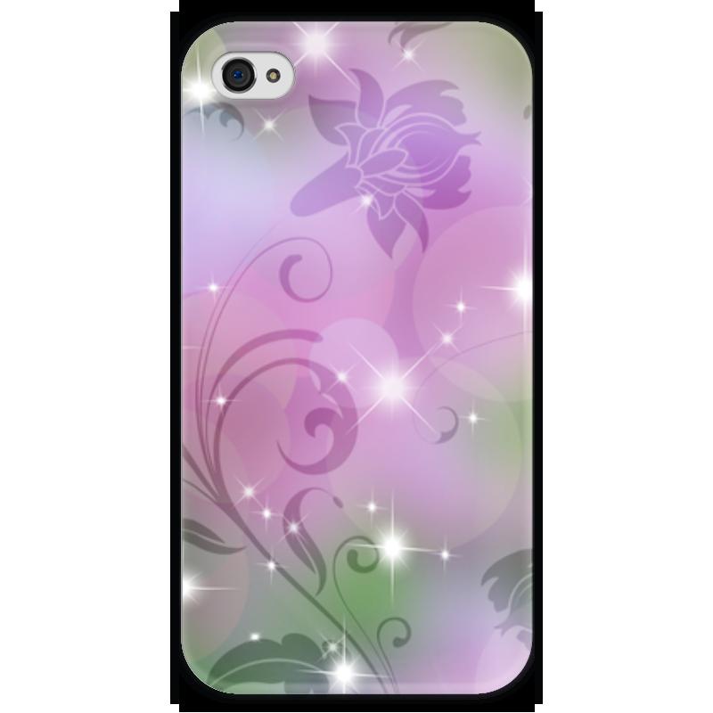 Чехол для iPhone 4 глянцевый, с полной запечаткой Printio Лилия чехол для iphone 4 глянцевый с полной запечаткой printio эфиопка