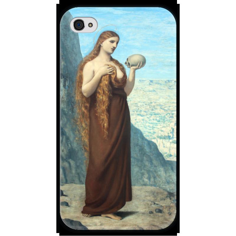 Чехол для iPhone 4 глянцевый, с полной запечаткой Printio Мария магдалина в пустыне профет элизабет клэр бут эннис мария магдалина тв вселенский аспект женской божественности