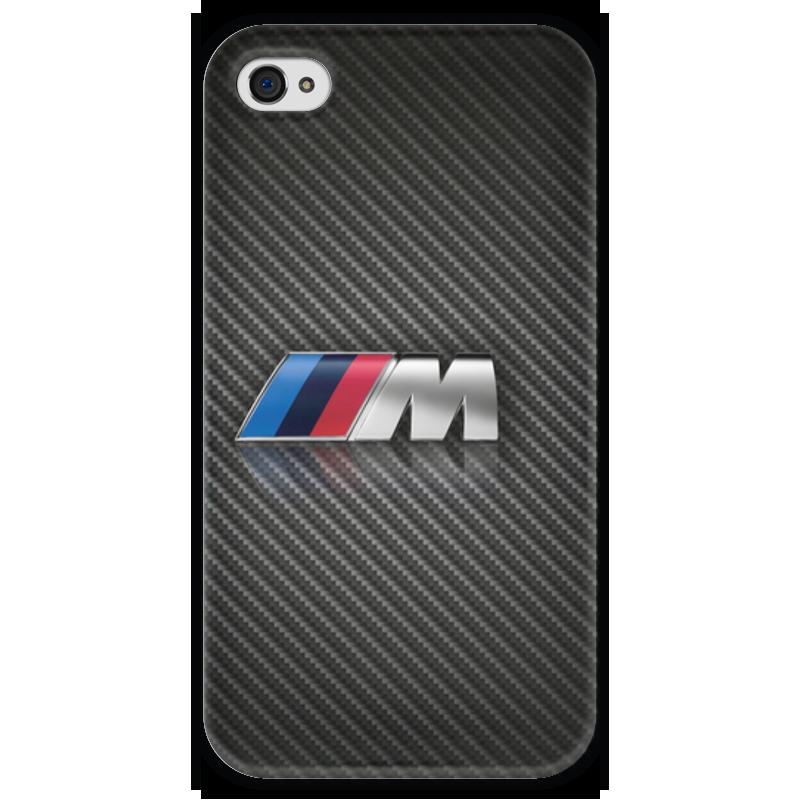 Чехол для iPhone 4 глянцевый, с полной запечаткой Printio Bmw m logo чехол для iphone 4 глянцевый с полной запечаткой printio эфиопка