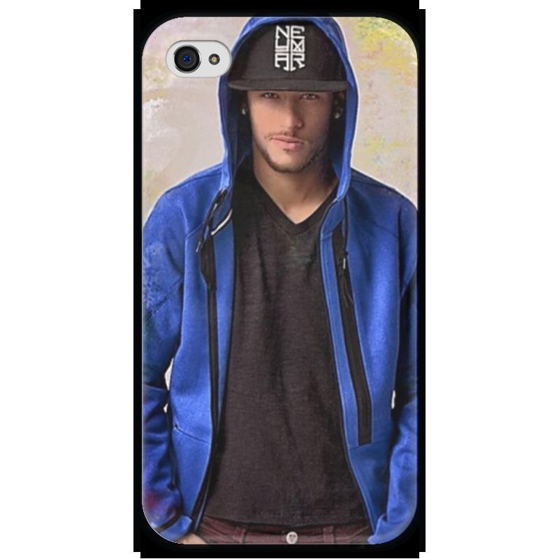 Чехол для iPhone 4 глянцевый, с полной запечаткой Printio Неймар футболист чехол для iphone 4 глянцевый с полной запечаткой printio эфиопка