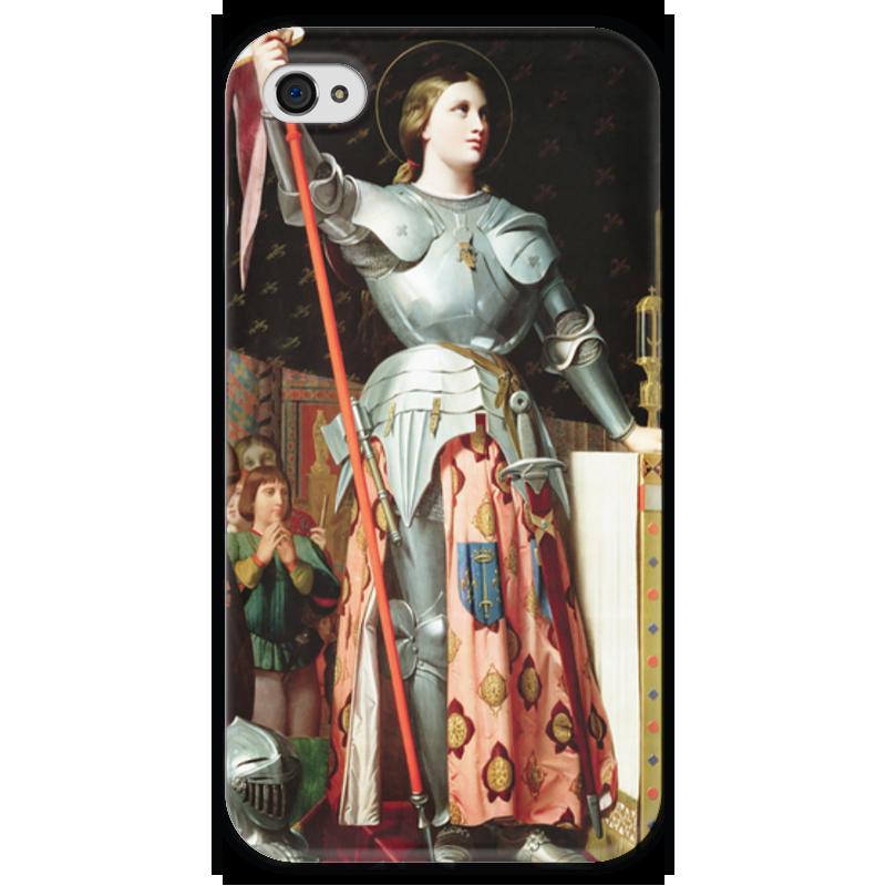 Чехол для iPhone 4 глянцевый, с полной запечаткой Printio Жанна д'арк на коронации карла vii (энгр) чехол для iphone 4 глянцевый с полной запечаткой printio диана пьер огюст ренуар
