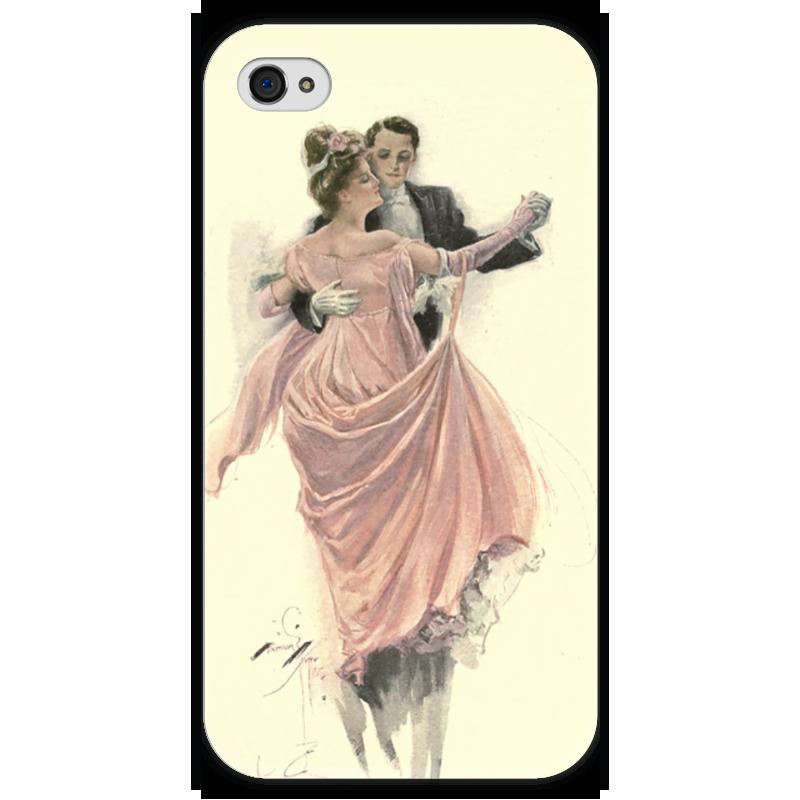 Чехол для iPhone 4 глянцевый, с полной запечаткой Printio День святого валентина чехол для iphone 4 глянцевый с полной запечаткой printio осенний день сокольники левитан