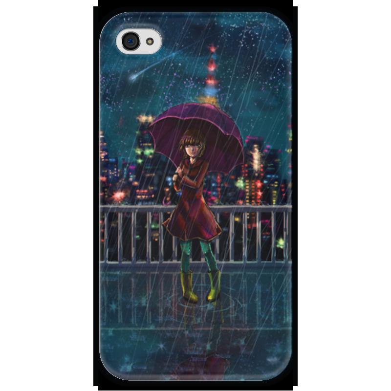 Чехол для iPhone 4 глянцевый, с полной запечаткой Printio Ночное небо чехол для iphone 4 глянцевый с полной запечаткой printio эфиопка