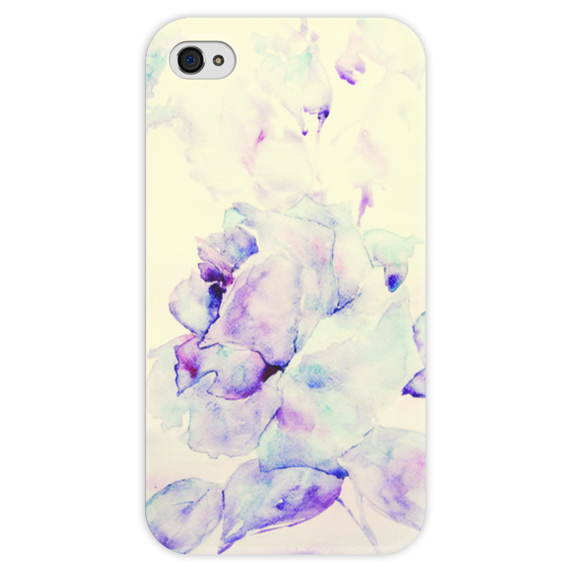 Чехол для iPhone 4 глянцевый, с полной запечаткой Printio Зимняя рапсодия чехол для iphone 6 глянцевый printio зимняя прогулка