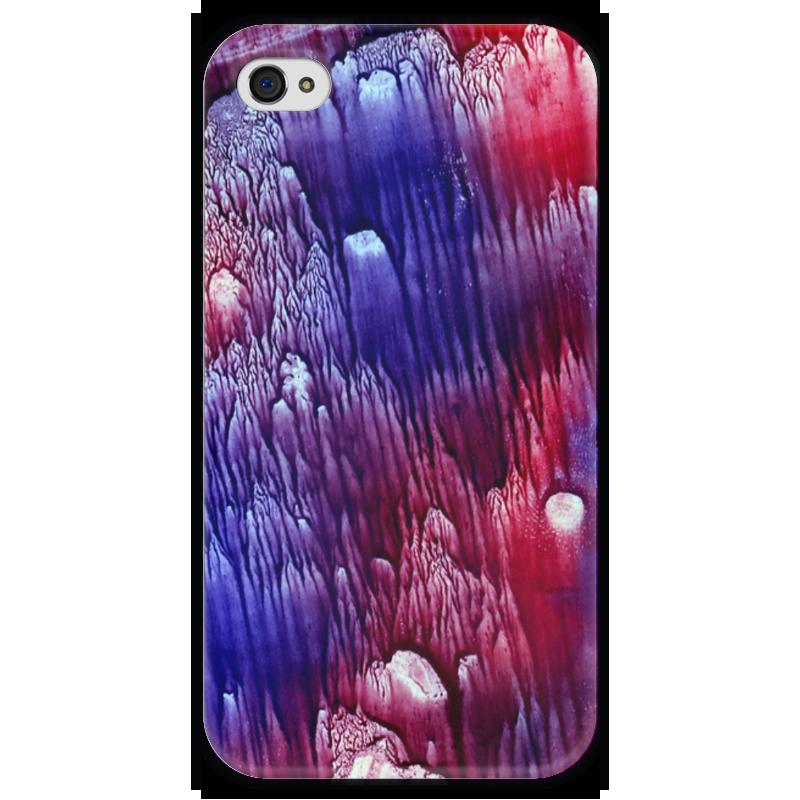 Чехол для iPhone 4 глянцевый, с полной запечаткой Printio Акварелька чехол для iphone 4 глянцевый с полной запечаткой printio эфиопка