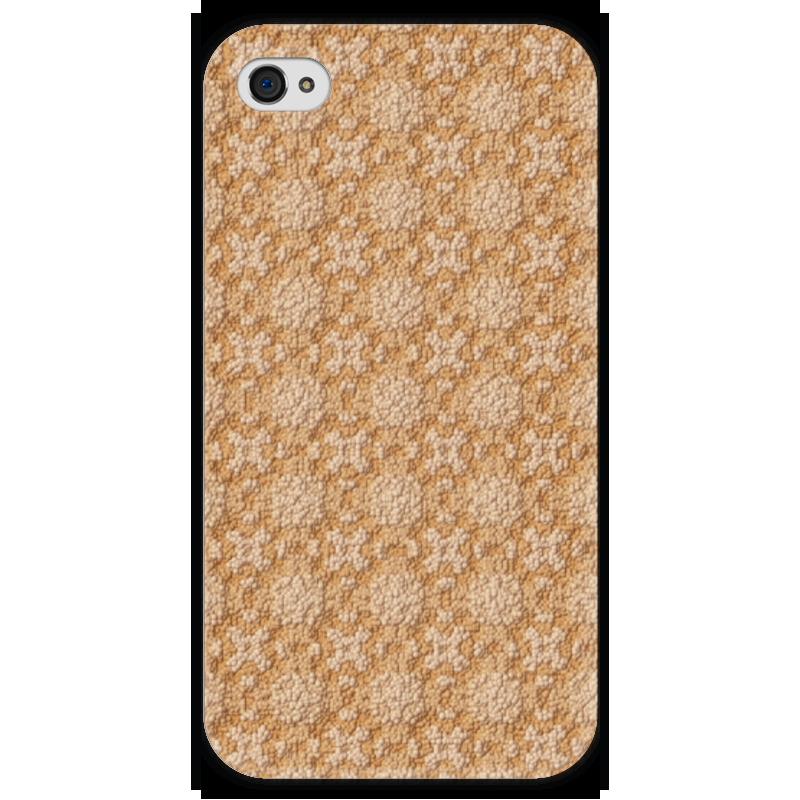 Чехол для iPhone 4 глянцевый, с полной запечаткой Printio Dustcloud обложка для паспорта printio dustcloud