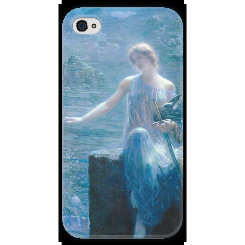 Чехол для iPhone 4 глянцевый, с полной запечаткой Printio Валькирия в бдение (эдвард роберт хьюз) гэлбрейт роберт шелкопряд роман