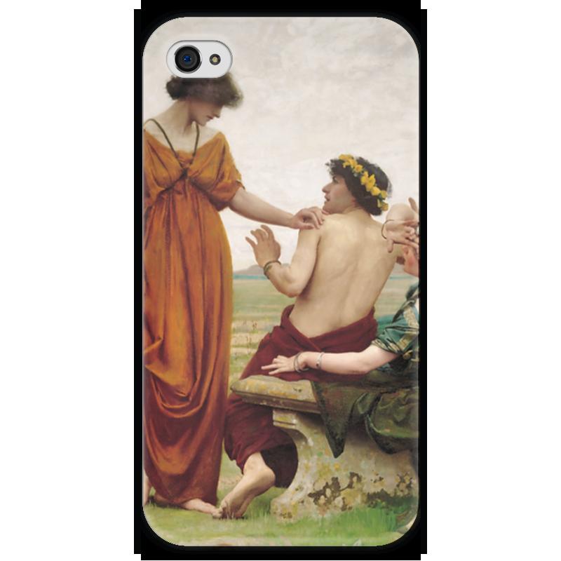 Чехол для iPhone 4 глянцевый, с полной запечаткой Printio Судьба (томас купер готч)