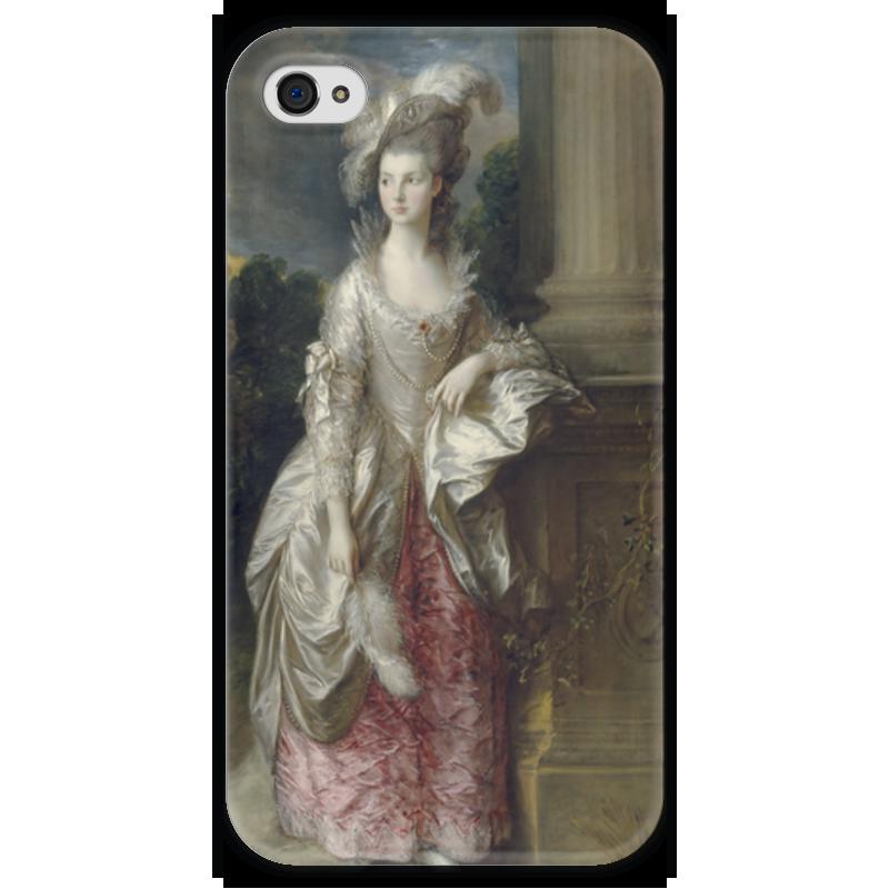 Чехол для iPhone 4 глянцевый, с полной запечаткой Printio Портрет миссис мэри грэм чехол для iphone 4 глянцевый с полной запечаткой printio портрет лоренцо медичи