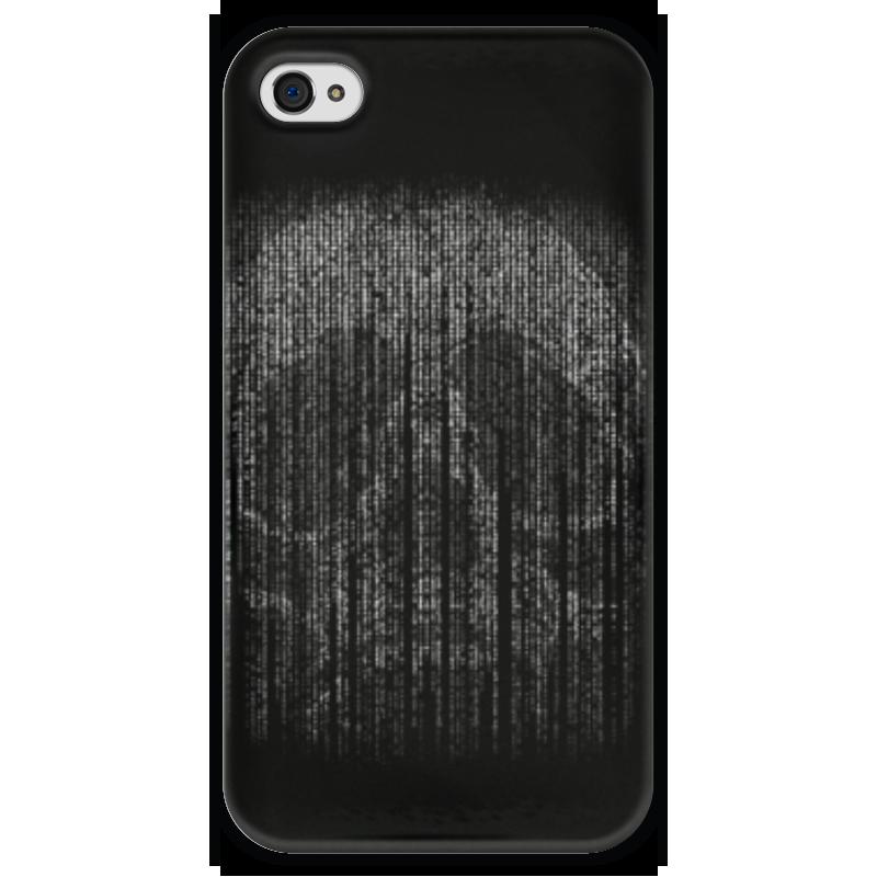 Чехол для iPhone 4 глянцевый, с полной запечаткой Printio Голограмма череп чехол для iphone 4 глянцевый с полной запечаткой printio эфиопка