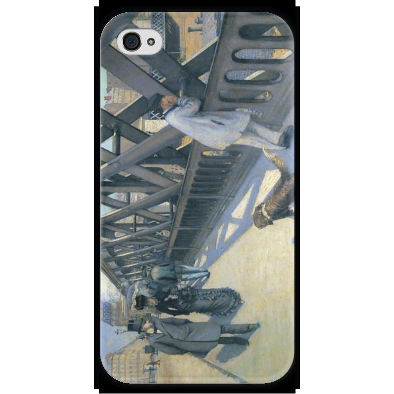 Чехол для iPhone 4 глянцевый, с полной запечаткой Printio Мост европы (картина кайботта) мост дружбы дуслык купере