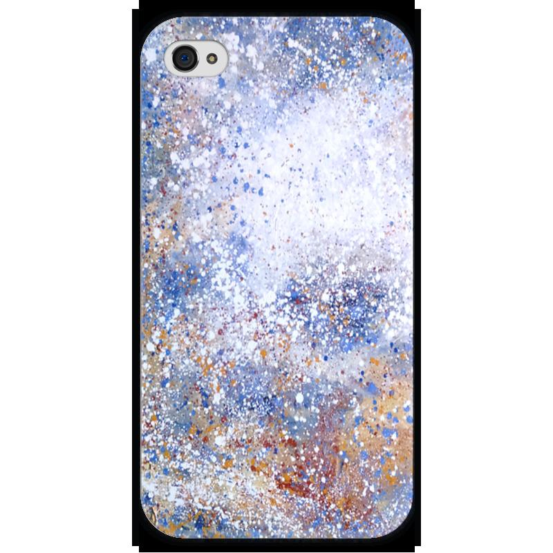Чехол для iPhone 4 глянцевый, с полной запечаткой Printio Магелланово облако 1 чехол для iphone 4 глянцевый с полной запечаткой printio эфиопка