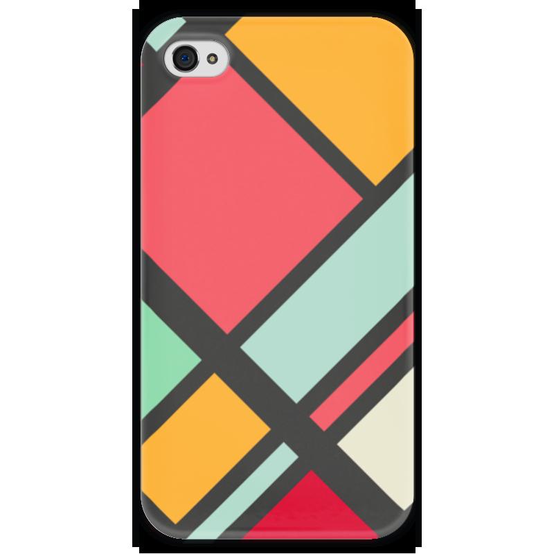 Чехол для iPhone 4 глянцевый, с полной запечаткой Printio Модерн чехол для iphone 4 глянцевый с полной запечаткой printio фруктовый сад в цвету