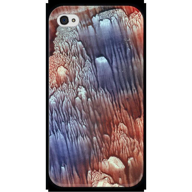Чехол для iPhone 4 глянцевый, с полной запечаткой Printio Акварелька чехол для iphone 4 глянцевый с полной запечаткой printio куртизанка courtesan after eisen
