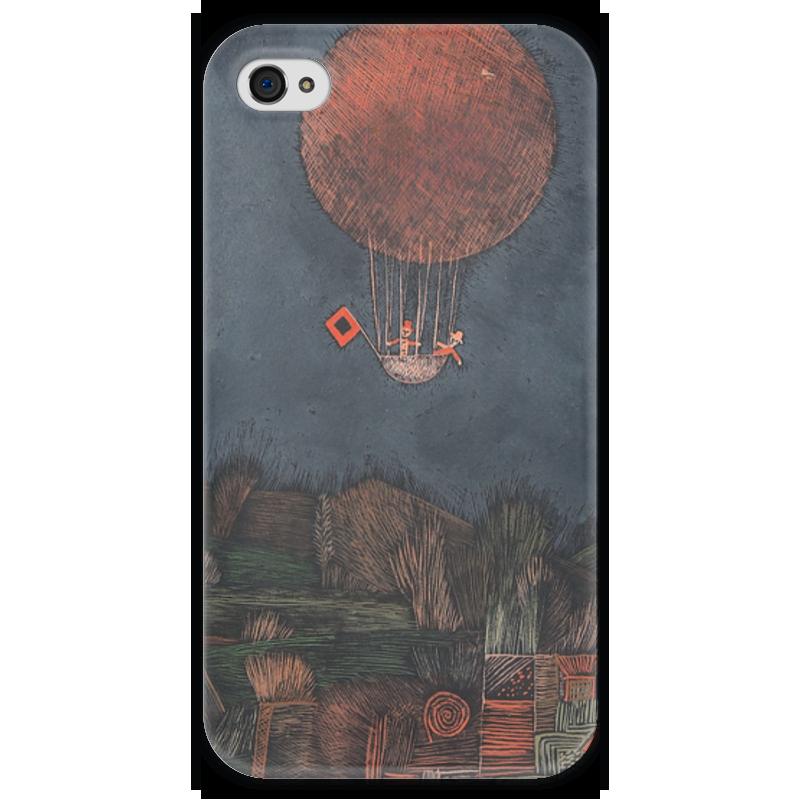 Чехол для iPhone 4 глянцевый, с полной запечаткой Printio Воздушный шар чехол для iphone 4 глянцевый с полной запечаткой printio эфиопка
