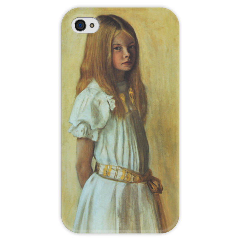 Чехол для iPhone 4 глянцевый, с полной запечаткой Printio Гертруда гадд (хуго симберг) я сбил целый авиаполк мемуары финского аса