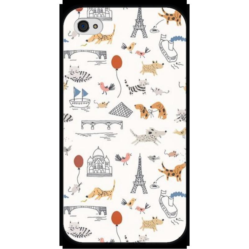 Чехол для iPhone 4 глянцевый, с полной запечаткой Printio World animals чехол для iphone 4 глянцевый с полной запечаткой printio эфиопка