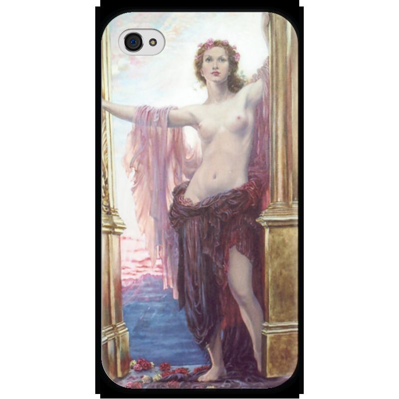 Чехол для iPhone 4 глянцевый, с полной запечаткой Printio Ворота рассвета чехол для iphone 4 глянцевый с полной запечаткой printio эфиопка
