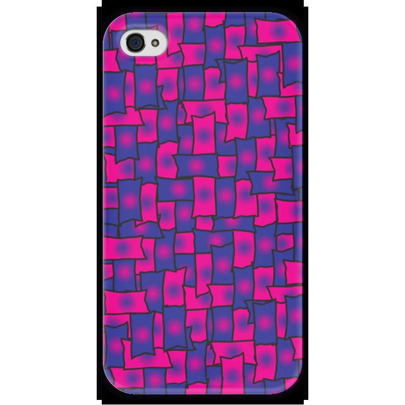 Чехол для iPhone 4 глянцевый, с полной запечаткой Printio Прямоугольники чехол для iphone 4 глянцевый с полной запечаткой printio эфиопка