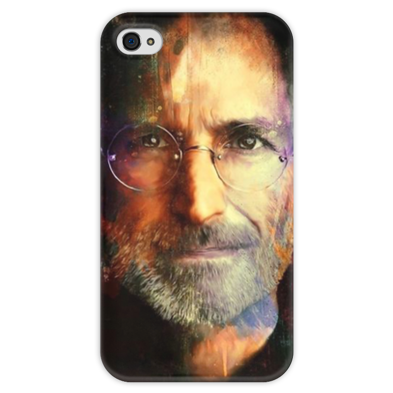 Чехол для iPhone 4 глянцевый, с полной запечаткой Printio Steve jobs yukari iwatani kane haunted empire apple after steve jobs
