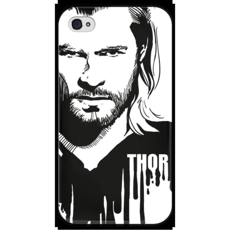 Чехол для iPhone 4 глянцевый, с полной запечаткой Printio Тор чехол для iphone 4 глянцевый с полной запечаткой printio куртизанка courtesan after eisen