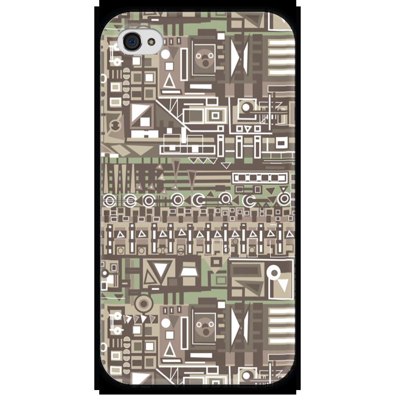 Чехол для iPhone 4 глянцевый, с полной запечаткой Printio Fg345gh чехол для iphone 4 глянцевый с полной запечаткой printio эфиопка