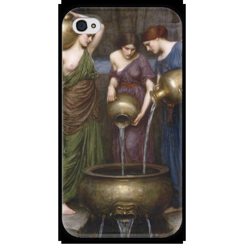 Чехол для iPhone 4 глянцевый, с полной запечаткой Printio Данаиды (джон уильям уотерхаус) уильям уинн уэсткотт книга творения сефер йецира