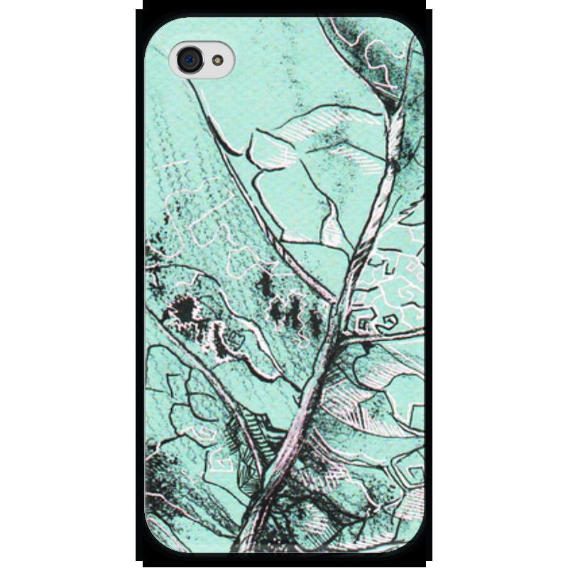 Чехол для iPhone 4 глянцевый, с полной запечаткой Printio Весенняя осень чехол для iphone 4 глянцевый с полной запечаткой printio эфиопка