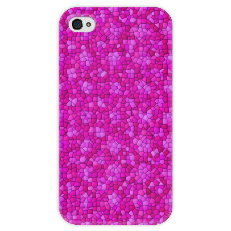 Чехол для iPhone 4 глянцевый, с полной запечаткой Printio Purple чехол для iphone 4 глянцевый с полной запечаткой printio иллидан