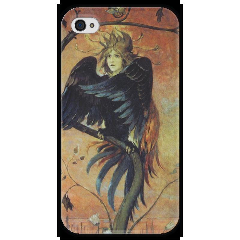 Чехол для iPhone 4 глянцевый, с полной запечаткой Printio Гамаюн, птица вещая (виктор васнецов) виктор халезов увеличение прибыли магазина