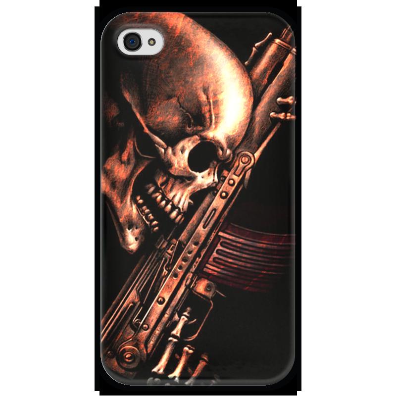 Чехол для iPhone 4 глянцевый, с полной запечаткой Printio До конца!!! чехол для iphone 4 глянцевый с полной запечаткой printio эфиопка