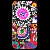 """Чехол для iPhone 4 глянцевый, с полной запечаткой """"Таджикский стиль"""" - арт, чакан, таджикский стиль"""