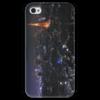 "Чехол для iPhone 4 глянцевый, с полной запечаткой ""Париж"" - арт"