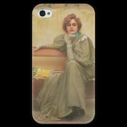 """Чехол для iPhone 4 глянцевый, с полной запечаткой """"Мечты"""" - картина, коркос"""