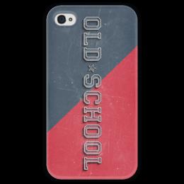"Чехол для iPhone 4 глянцевый, с полной запечаткой ""Old School Style"" - арт, style, стиль, олд скул, old school"