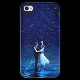 """Чехол для iPhone 4 глянцевый, с полной запечаткой """"Ла Ла Ленд"""" - мечта, оскар, эмма стоун, райан гослинг, la la land"""